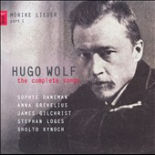 Hugo Wolf: The Complete Songs, Vol. 1 / Sophie Daneman, Anna Grevelius, James Gilchrist