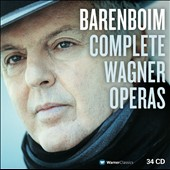 Complete Wagner Operas / Barenboim - Eaglen, Seiffert, Meier, Pape, Jerusalem, Meier, Tomlinson et al. [34 CDs]