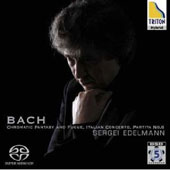 Bach: Chromatic Fantasy and Fugue / Sergei Edelmann