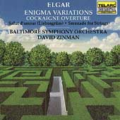 Elgar: Enigma Variations, etc / Zinman, Baltimore SO