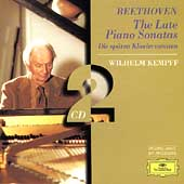 Beethoven: The Late Piano Sonatas / Wilhelm Kempff