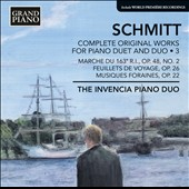 Florent Schmitt: Works for Piano Duet & Duo / Andrey Kasparov; Oksanu Lutsyshyn, piano duo