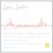 Louis Spohr: Music at the Courth of Gotha - Double Concertos / Mila Georgieva, Antje Weithaas, violin; Michael Sanderling, cello; Thuringian State SO, Gotha; Hermann Breuer