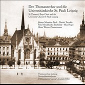 St Thomas's Boys Choir & The University Church St Pauli Leipzig - works by J.S. Bach, Zimmermann, Mendelssohn, Terzakis, Reger