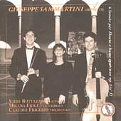 Sammartini: Sonatas for Flute and Continuo / Bottazzini