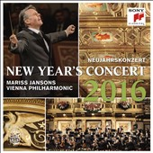 New Year's Concert 2016 - works by members of the Johann Strauss family and Eduard & Josef Strauss / Berlin PO, Mariss Jansons