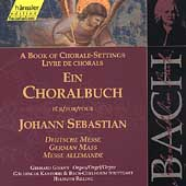 Edition Bachakademie Vol 81 - A Chorale Book - German Mass
