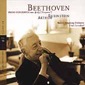 Rubinstein Collection Vol 58 -Beethoven: Piano Concertos