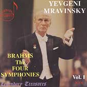Legendary Treasures - Brahms: Four Symphonies / Mravinsky