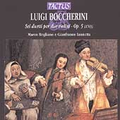 Boccherini: Sei duetti per due violini / Rogliano, Iannetta
