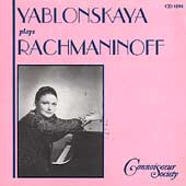 Yablonskaya plays Rachmaninoff
