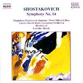 Shostakovich: Symphony no 14 / Ladislav Slov&aacute;k