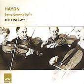 Haydn: String Quartets Op 71 no 1 2 & 3 / The Lindsays
