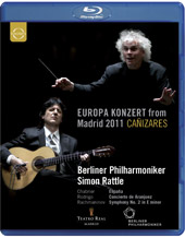 Europa Concert From Madrid 2011 / Rattle, BPO, Canizares [Blu-Ray]