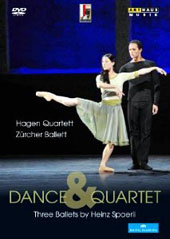 Dance & Quartet: Three Ballets - Janacek; Dvorak, Schubert / Hagen Quartett [DVD]