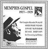 Various Artists: Memphis Gospel: Complete Works (1927-1929)