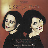 Liszt for Two - Hungarian Rhapsodies, Mephisto Waltz /Mangos