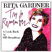 Rita Gardner: Try to Remember