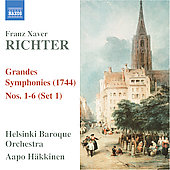 Richter: Grandes Symphonies Set 1 no 1-6 / H&auml;kkinen, et al