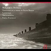 Britten: Variations on a theme of Frank Bridge, Lachrimae, etc / Qu&eacute;nelle, Minali-Bella, et al