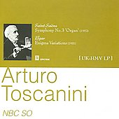 Saint-Sa&euml;ns, Elgar / Toscanini, NBC SO