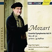 Mozart: Essential Symphonies Vol 6 / Roger Norrington, et al