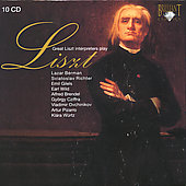 Great Interpreters play Liszt / Wild, Berman, Richter, Cziffra, Pizarro, Gilels, Brendel, Ovchinikov