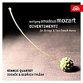 Mozart: Divertimenti / Stamic String Quartet
