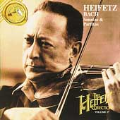 The Heifetz Collection Vol 17 - Bach: Sonatas & Partitas