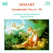 Mozart: Symphonies nos 6-10 / Ward, Northern CO
