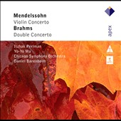 Brahms: Double Concerto; Mendelssohn: Violin Concerto / Perlman, Ma