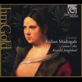 Schutz: Italian Madrigals/ Cantus Colln, Konrad Junghanel