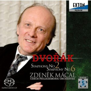 Dvor&aacute;k: Symphony No.2; Symphony No. 6 / Macal, Czech PO