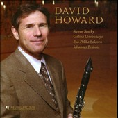 David Howard Plays Stucky, Ustvolskaya, Salonen, Brahms