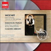 Mozart: Flute Concertos nos 1 & 2; Concerto for Flute & Harp / Emmanuel Pahud, flute