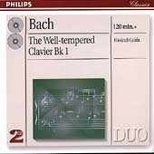 Bach: The Well-Tempered Clavier, Bk I / Friedrich Gulda