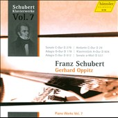 Schubert: Piano Works, Vol. 7 / Gerhard Oppitz, piano