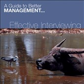 Various Artists: Effective Interviewing
