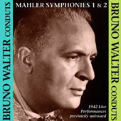 Bruno Walter Early New York Recordings - Mahler: Symphonies nos 1 & 2 / Nadine Conner, Mona Paulee (rec. 1942)