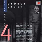 Gy&#246;rgy Ligeti Edition Vol 4 - Vocal Works / Salonen, et al