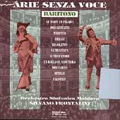 Arie Senza Voce - Baritono / Frontalini, Moldava Symphony
