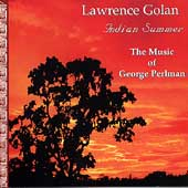 Indian Summer - The Music of George Perlman / Golan, Perry