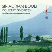 Concert Favorites / Sir Adrian Boult