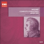 Mozart: Complete Symphonies / Jeffrey Tate, English CO [12 CDs]