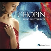 Chopin: Piano Masterpieces - A selection of best-loved pieces performed by Pires, Katsaris, Lubimov, Freire, Ashkenazy et al. [3 CDs]