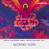 Medtner: Piano Works Vol 5 / Geoffrey Tozer