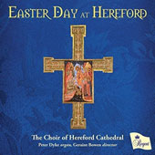 Spiritual Music by Various Composers / Peter Dyke, organ; Hereford Cathedral Choir, Geraint Bowen