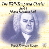 Bach: Well Tempered Clavier Book 1 / David Korevaar