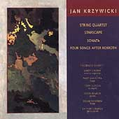 Krzywicki: String Quartet, Starscape, etc / Golden, et al