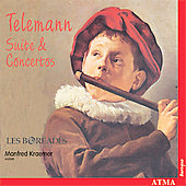 Telemann: Suite & Concertos / Kraemer, Les Bor&eacute;ades Montreal